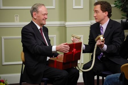 Jean Chrétien and Mark Critch 22 Minutes
