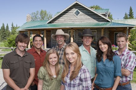 The cast of Heartland
