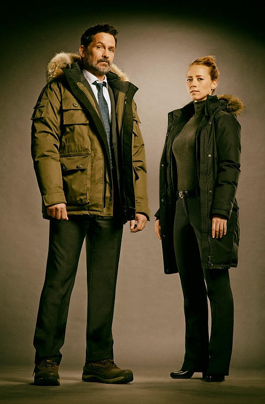 Billy Campbell and Karine Vanasse
