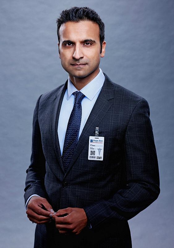 Huse Madhavji as Dr. Shahir Hamza