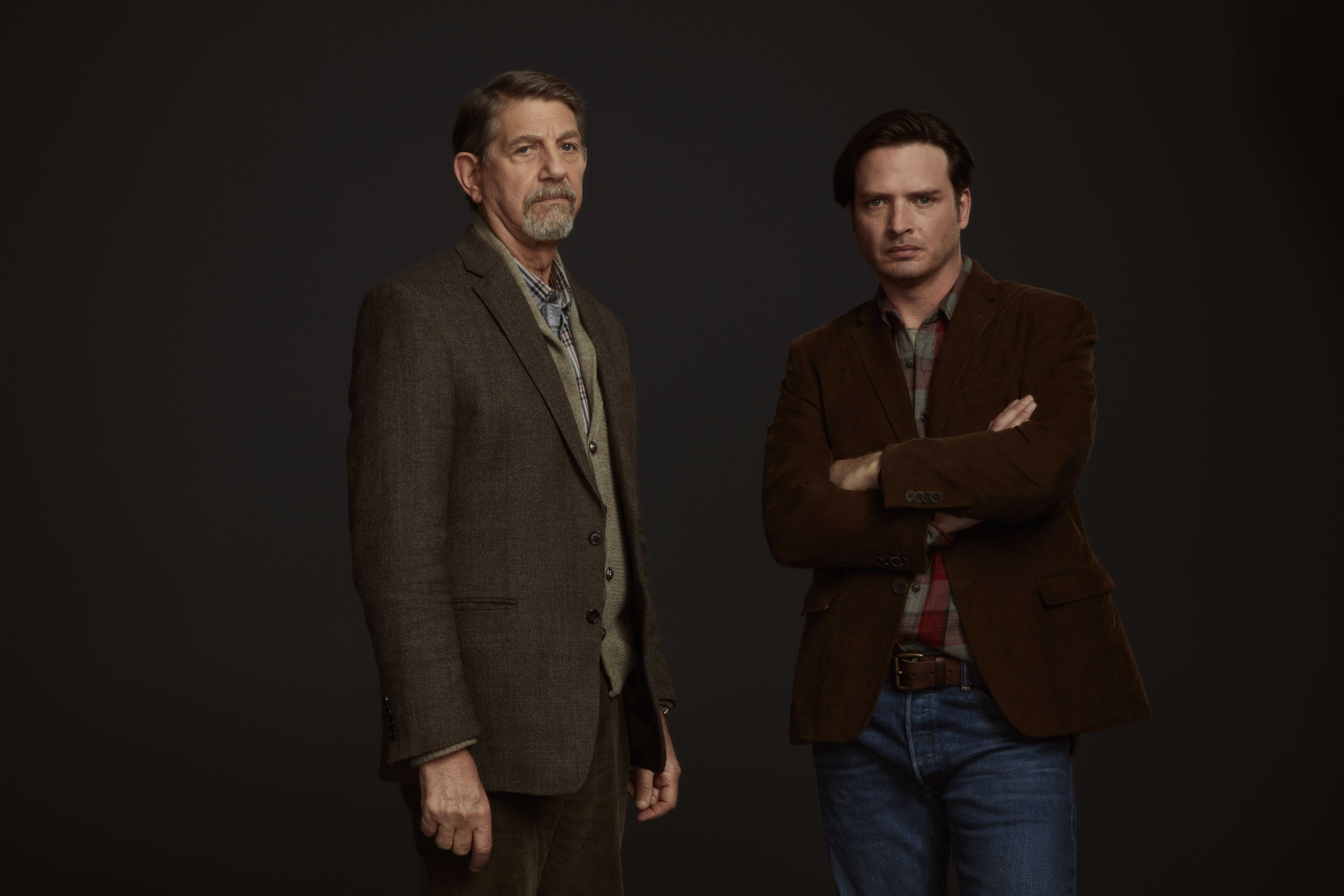 Peter Coyote as Henry Sullivan and Aiden Young as Luke Sullivan