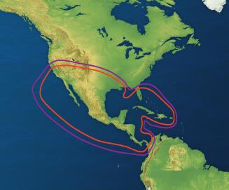 Sky Mexico Footprint