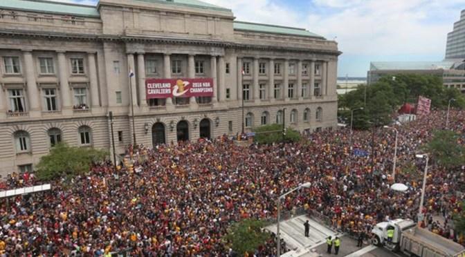 Cleveland Cavaliers Championship Celebration!
