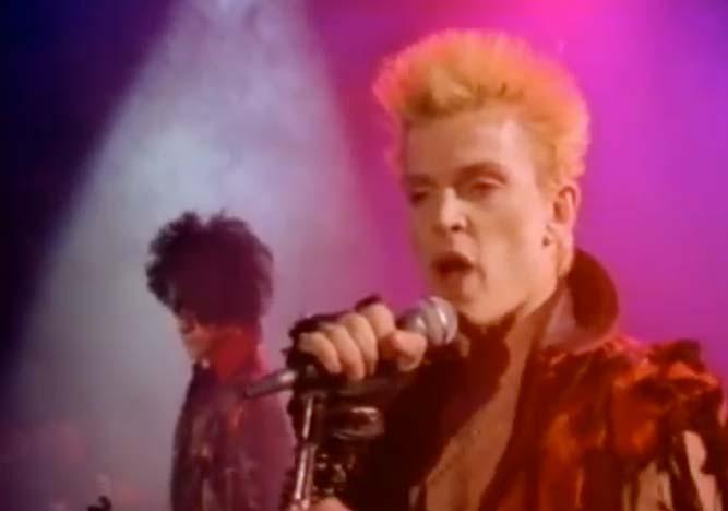 Billy idol rebel yell original video
