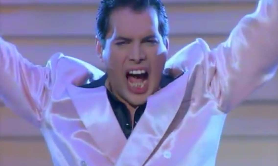 Freddie Mercury The Great Pretender Official Music Video