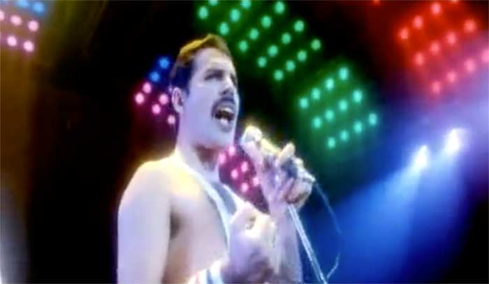 Queen - Hammer To Fall - Official Music Video