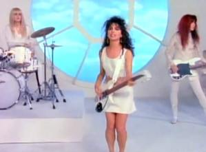 The Bangles - In Your Room - Official Music Video.