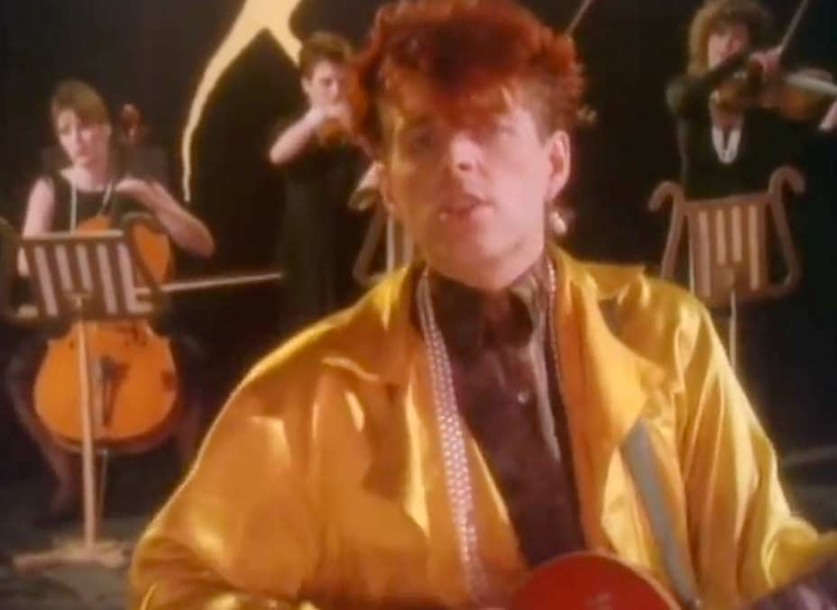 Thompson Twins - Lay Your Hands On Me - Official Music Video
