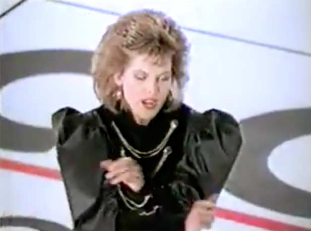 C.C.Catch - Are You Man Enough? - Promo Music Video.