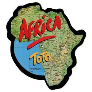 Toto - Africa - single cover