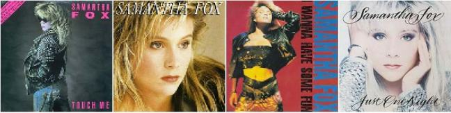 Samantha Fox Discography - 80s Music - Sound of music of stars of 80's: Samantha Fox, Kim Wilde, Ultravox, Visage, Depeche Mode, Thompson Twins etc