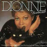 Dionne Warwick Heartbreaker single cover