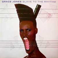 Grace Jones Slave To The Rhythm single cover