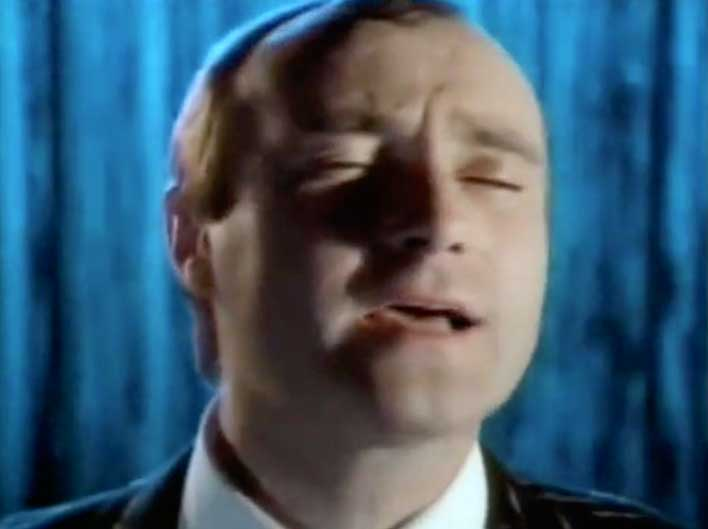 Phil Collins Against All Odds Take A Look At Me Now Official Music Video