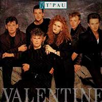 T'Pau Valentine Single Cover
