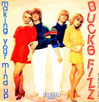 Bucks Fizz - Making Your Mind Up - Single Cover