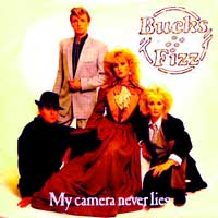 Bucks Fizz - My Camera Never Lies - Single Cover
