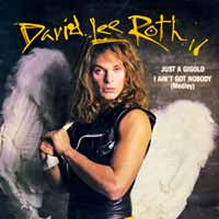 David Lee Roth - Just A Gigolo / I Ain't Got Nobody - Single Cover