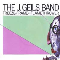 J. Geils Band - Freeze Frame - Single Cover