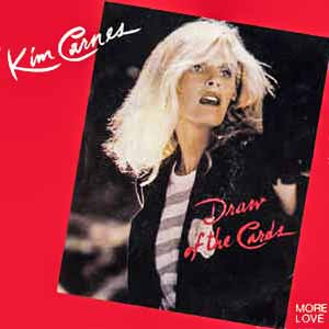 Kim Carnes Draw Of The Cards Single Cover