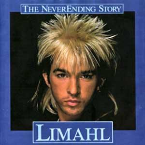 Limahl Neverending Story Never Ending Single Cover