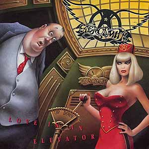 Aerosmith Love In An Elevator Single Cover