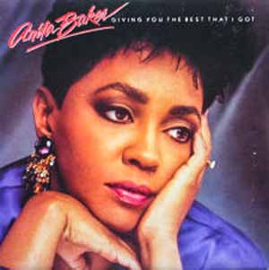 Anita Baker Giving You The Best That I Got Single Cover