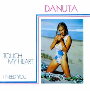 Danuta Lato Touch My Heart Single Cover