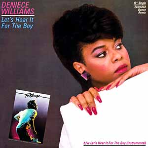 Deniece Williams Let's Hear It for the Boy Single Cover