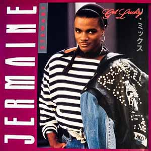 Jermaine Stewart Get Lucky Single Cover