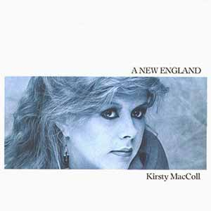Kirsty MacColl A New England Single Cover