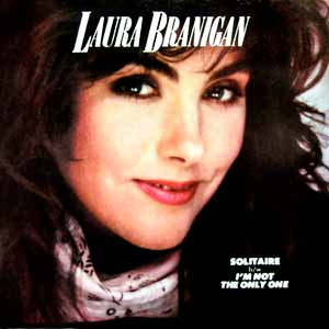 Laura Branigan Solitaire Single Cover