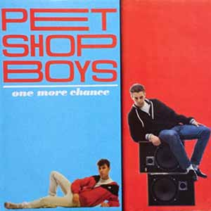 Pet Shop Boys One More Chance Single Cover