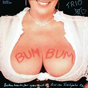 trio bum bum single cover boom boom