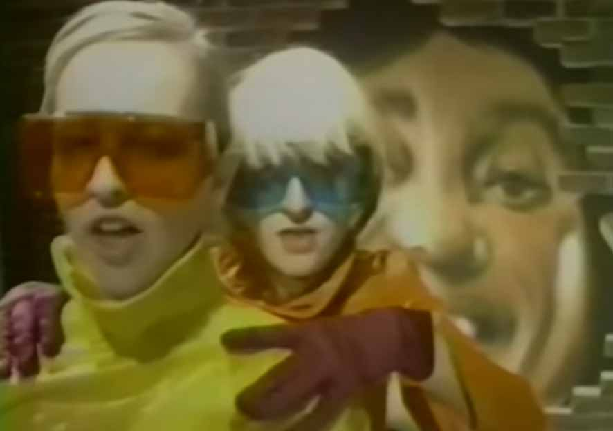 The Buggles Living In The Plastic Age Official Music Video