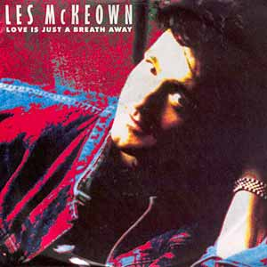 Les McKeown Love Is Just A Breath Away Single Cover