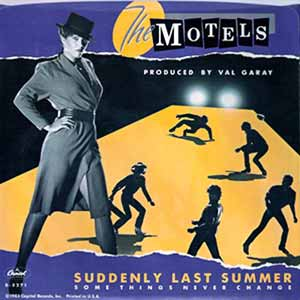 The Motels Suddenly Last Summer Single Cover