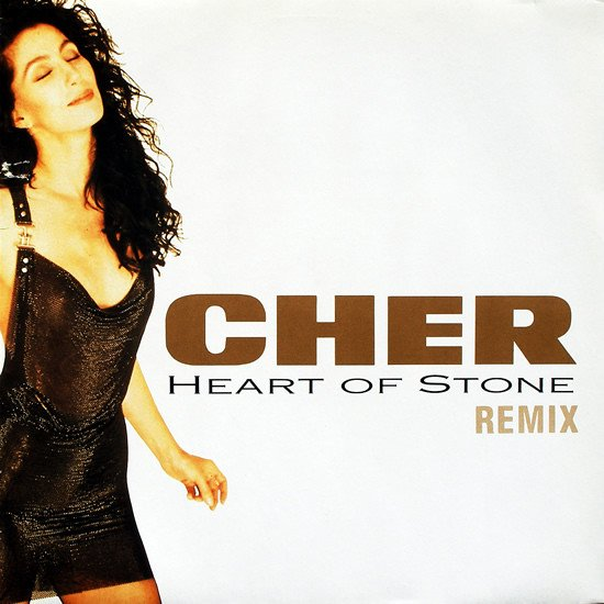Cher - Heart Of Stone - Single Cover