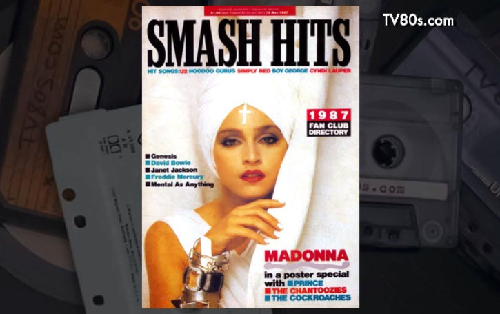 Music Magazine Covers 1986 80s