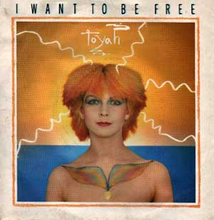 Toyah - I Want To Be Free - Single Cover