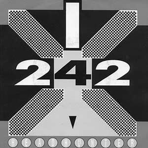 Front 242 Headhunter single cover
