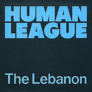 The Human League - The Lebanon - single cover