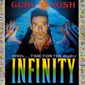 Guru Josh - Infinity 1990s...Time for the Guru - single cover