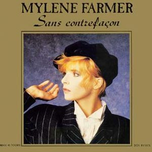 Mylène Farmer - Sans Contrefaçon - single cover