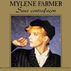 Mylène Farmer - Sans Contrefaçon - single cover