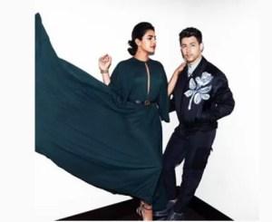 Priyanka Chopra - Nick Jonas paris fashion week