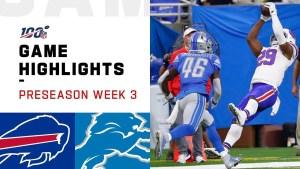 NFL 2019 Highlights Week 3 Bills vs. Lions