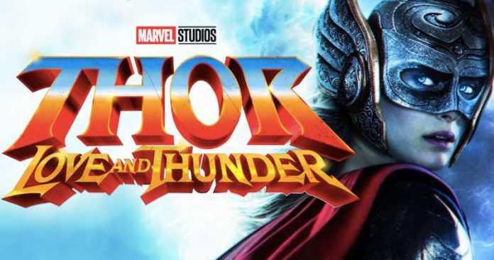 Thor Love and Thunder Thor 4