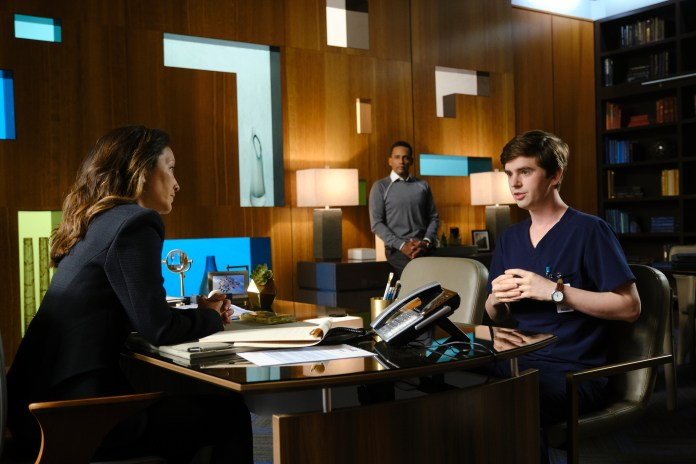 the good doctor season 3 episode 6 CHRISTINA CHANG, HILL HARPER, FREDDIE HIGHMORE
