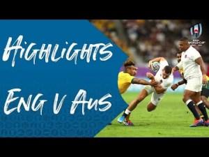 Highlights England v Australia - Rugby World Cup quarter-final